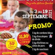 Colis - Promo du 3 au 19 Septembre